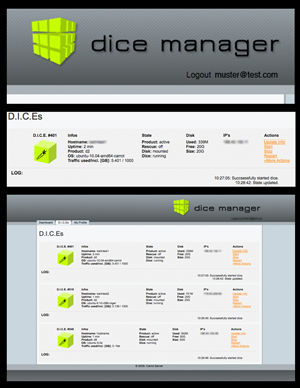 Dicemanager Screenshot